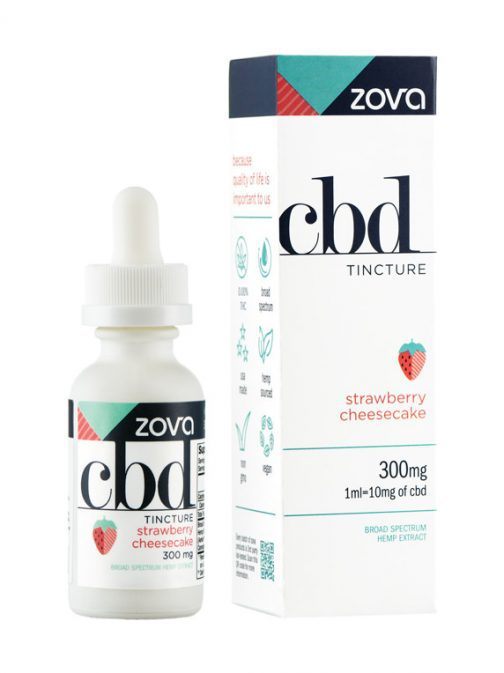 Zova Strawberry Cheesecake 300mg Tincture