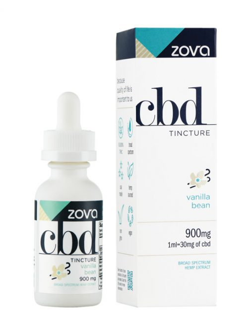 Zova Vanilla Bean 900mg Tincture